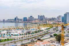 Luanda, Angola royalty free stock photos