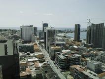 Luanda, Angola Skyline Royalty Free Stock Photography