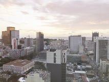 Luanda, Angola Sunset Stock Images