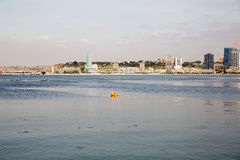 Luanda Bay Scene, Angola - African City Landscape Stock Photography