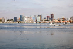 Luanda Bay Skyline, Angola - African City - Economy Stock Images