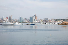 Luanda Bay Skyline, Angola - Cityscape Royalty Free Stock Photos