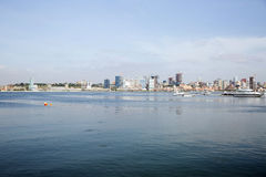 Luanda Waterfront, Angola - African Urban Landscape Stock Images