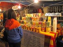 luang市场晚上prabang 图库摄影
