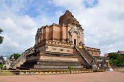 Luang del chedi del wat de Chiang Mai Tailandia foto de archivo