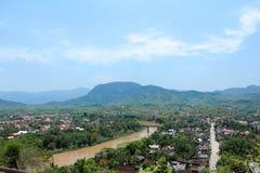 Luang phabang royaltyfri fotografi