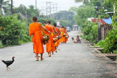The morning in Luang Phabang. Luang Prabang in the morning Stock Image