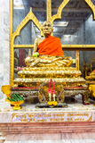 Luang Pho Chaem monument på Wat Chalong i Phuket Thailand Arkivfoto