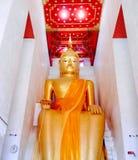 Luang Pho temple Palelai Stock Image
