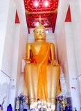 Luang Pho temple Palelai Royalty Free Stock Images