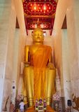 Luang pho to royalty free stock image