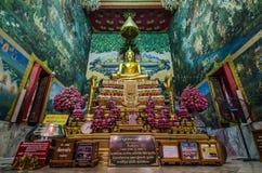 Luang Pho Wat Rai Khing statue Stock Photo