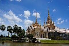 Luang Phor στο ναό Στοκ φωτογραφίες με δικαίωμα ελεύθερης χρήσης