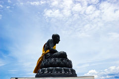 Luang Phor Tuad monk in Buddhism Stock Images