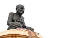 Luang Phor Tuad Statue, Wat Huai Mongkhon Stock Photo