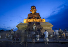 Luang Phor Tuad Statue Royalty Free Stock Images