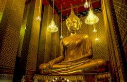 Luang Por Toe at Wat Kalayanamitr Varamahavihara,Bangkok Thailand. 1in 9 temple to pray respect to the sacred royalty free stock photography