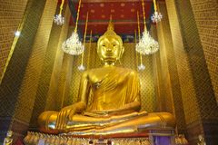 Luang Por Toe at Wat Kalayanamitr Varamahavihara,Bangkok Thailand. 1in 9 temple to pray respect to the sacred stock photography