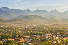 Luang Prabang above view, Laos Royalty Free Stock Photos