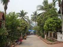 Luang Prabang city. Royalty Free Stock Photos