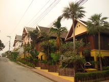 Luang Prabang city. Royalty Free Stock Photo