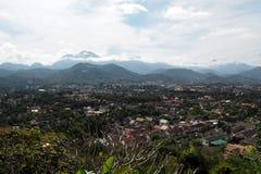 Luang prabang landscap in Laos Royalty-vrije Stock Foto's