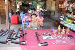 Luang Prabang - Laos imagenes de archivo