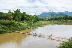 Luang Prabang, Laos Fotografie Stock Libere da Diritti