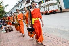 LUANG PRABANG, LAOS - 27 DE OCTUBRE Imagenes de archivo