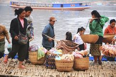 LUANG PRABANG, LAOS Stock Photography