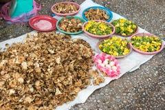Luang Prabang Laos, Jun, - 13 2015: Luang Prabang ranku rynek Zdjęcie Stock
