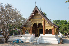 Luang Prabang Laos, Mar 05 2015, -: KADZIOWY PAK KHAN KHAMMUNGKHUN A Zdjęcie Royalty Free