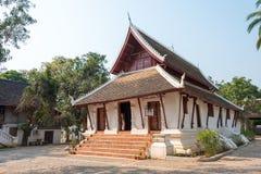 Luang Prabang Laos, Mar 05 2015, -: KADZIOWY PAK KHAN KHAMMUNGKHUN A Obrazy Stock