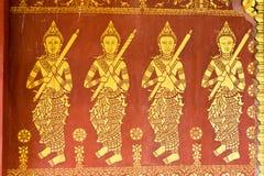 Luang Prabang Laos, Mar 05 2015, -: Ulga przy KADZIOWYM PAK KHAN KHAMMU Obraz Royalty Free