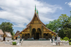 LUANG PRABANG, LAOS - MAY 12 :  Wat Xieng Thong, Buddhist temple Royalty Free Stock Photos