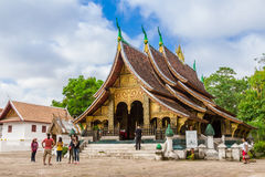 LUANG PRABANG, LAOS - OCTOBER 26; Wat Xieng Thong. Stock Image