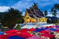 LUANG PRABANG, LAOS Royal Palace w Luang Praba - 28 2018 CZERWIEC - Fotografia Stock