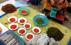 Luang Prabang Market Royalty Free Stock Images