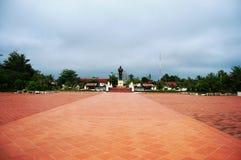 Luang Prabang miasto przy Loas Fotografia Royalty Free
