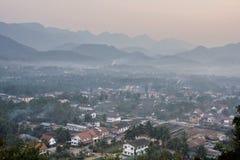 Luang Prabang in Morning Stock Photos