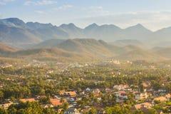 Luang Prabang nad widok, Laos Zdjęcia Royalty Free