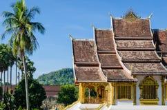 Luang Prabang narodu muzeum przy Luang Prabang, Laos Fotografia Stock