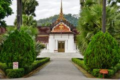 The Luang Prabang National Museum in the former Royal Palace Stock Image