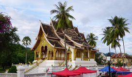 The Luang Prabang National Museum in the former Royal Palace Stock Photography