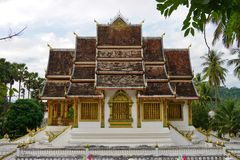 The Luang Prabang National Museum in the former Royal Palace Royalty Free Stock Image