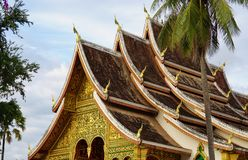 The Luang Prabang National Museum in the former Royal Palace Stock Photo