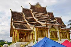 The Luang Prabang National Museum in the former Royal Palace Royalty Free Stock Photos