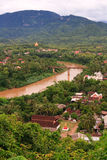 Luang Prabang Portait Royalty Free Stock Photo