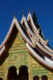 Luang Prabang roof Royalty Free Stock Photography