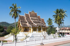 Luang prabang royal palace Stock Photo